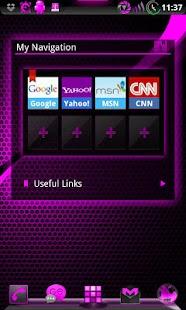 GOWidget AdeaPink ICS - Free - screenshot thumbnail