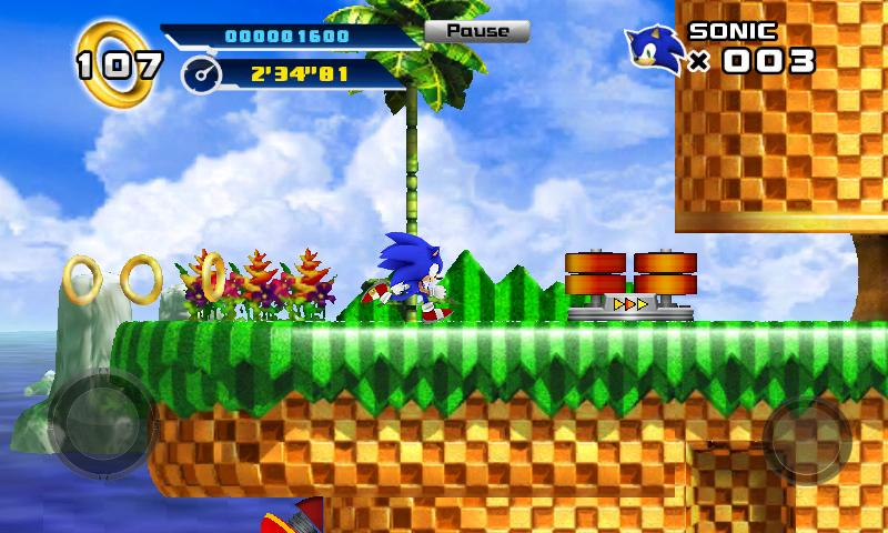 Sonic 4™ Episode I screenshot #1