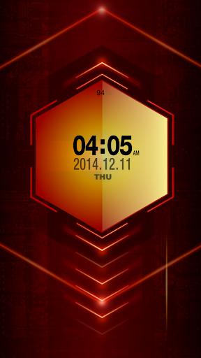 Red Alert Live Locker Theme