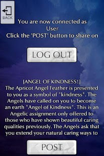 Angel Feather Oracle Cards- screenshot thumbnail