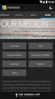 Screenshot of PANTEGO BIBLE CHURCH