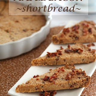 Maple Bacon Shortbread – Low Carb and Gluten-Free.