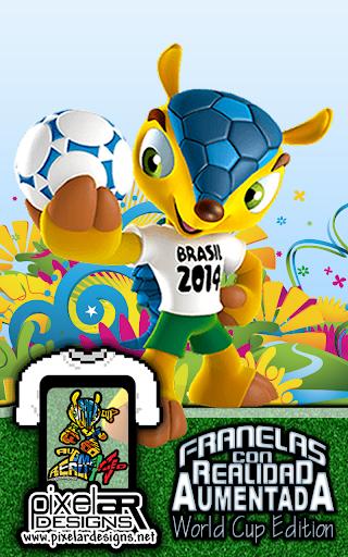 PixelAR Designs World Cup