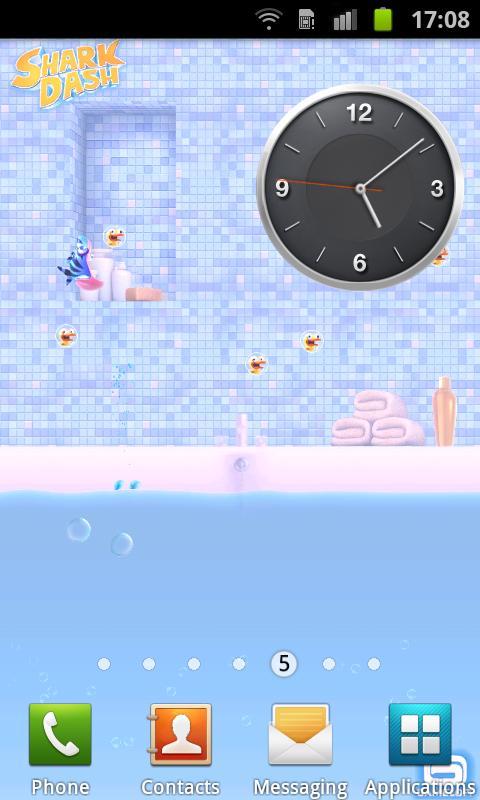 Shark Dash Live Wallpaper screenshot #2