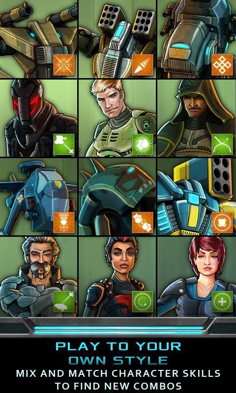 Nitropia: War Commanders screenshot #4