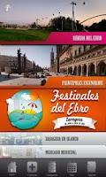 Screenshot of Festivales del Ebro