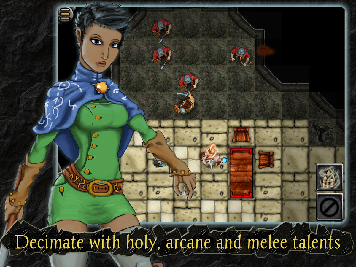 Heroes of Steel RPG - screenshot