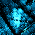 Matrix 3D Cubes 3 Trial LWP icon