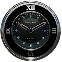 Black Snake Clock widget icon