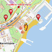 Barcelona Amenities Map (free)