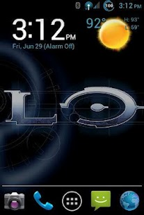 CM9 MDPI ONLY THEME: Halo - screenshot thumbnail