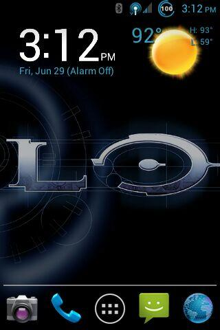 CM9 MDPI ONLY THEME: Halo - screenshot