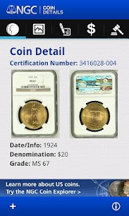NGC Coin Details - screenshot thumbnail