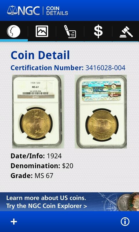 NGC Coin Details - screenshot
