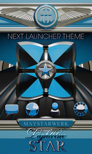 Next Launcher theme Star