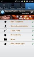 Screenshot of Steak Recipes!!