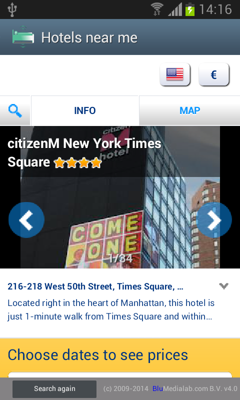Hotels Near Me- screenshot