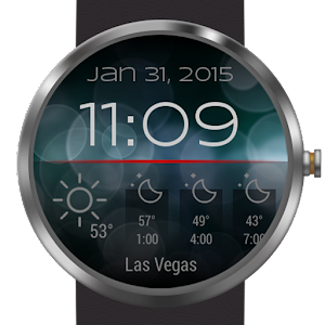 Download Weather for Bokeh Watch Face