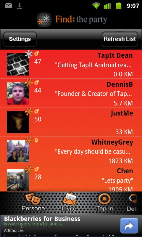 TapIt Social - screenshot