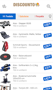 Discounto: With this app you will find the best deals - Android App
