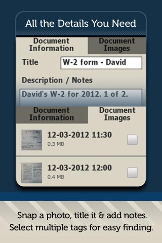 TaxACT DocVault - screenshot