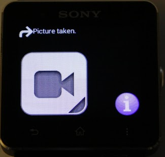 SONY CAM SMARTWATCH CONTROL- screenshot thumbnail