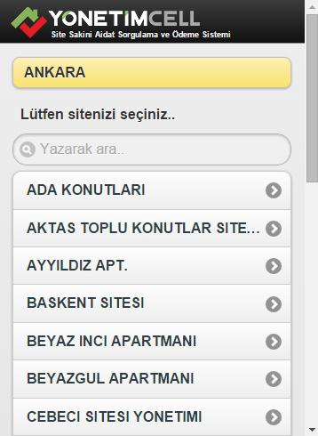 Aidat Takip Sistemi- screenshot