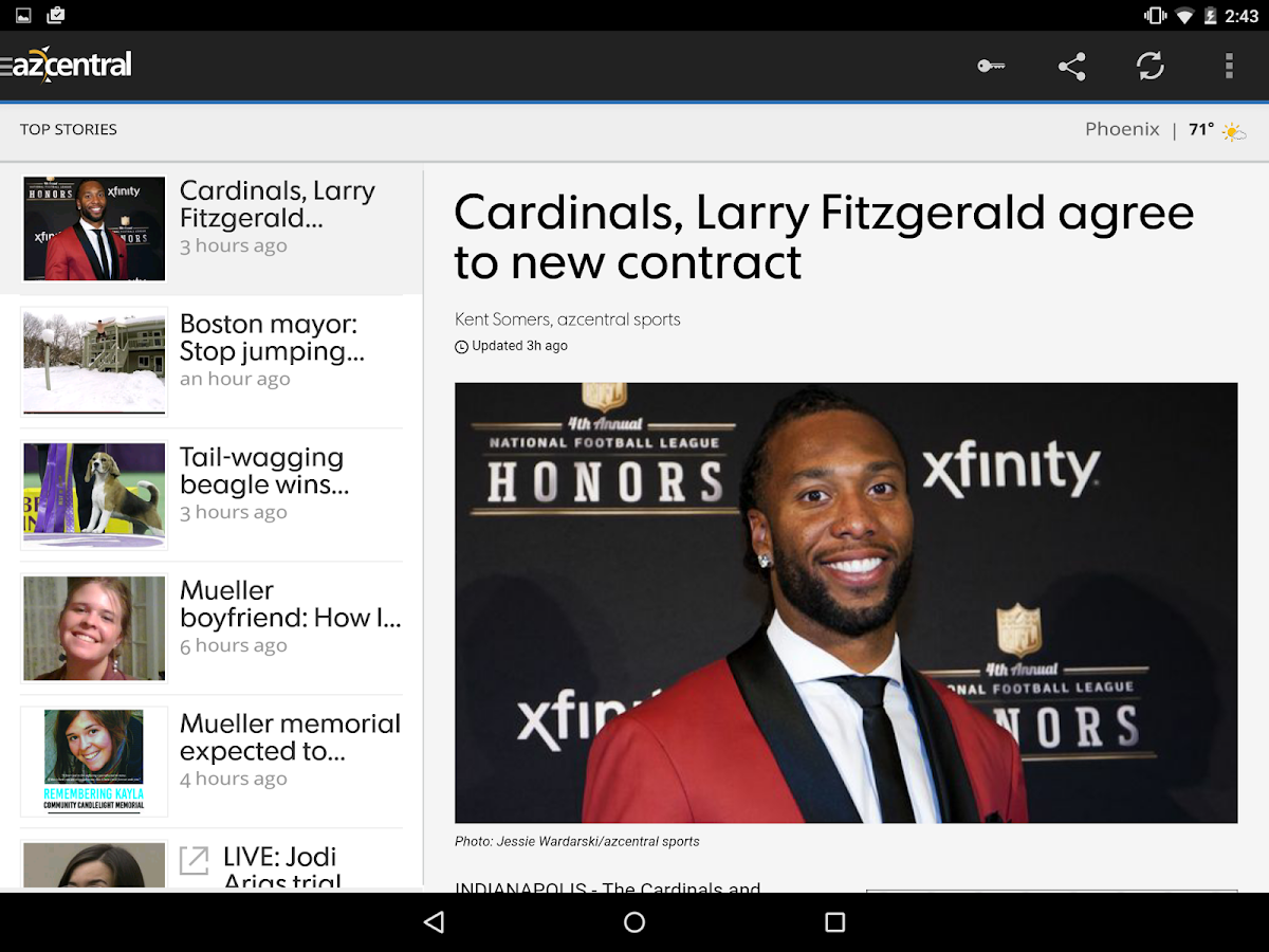 azcentral for Android - screenshot
