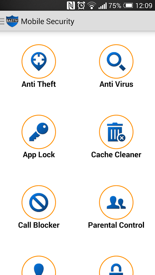 Bastiv Security Antivirus- screenshot