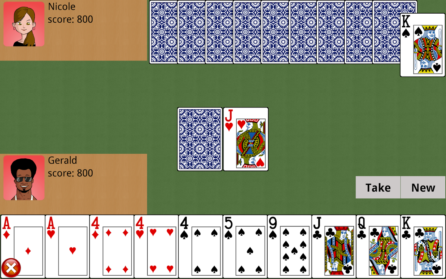 Gin Rummy - screenshot