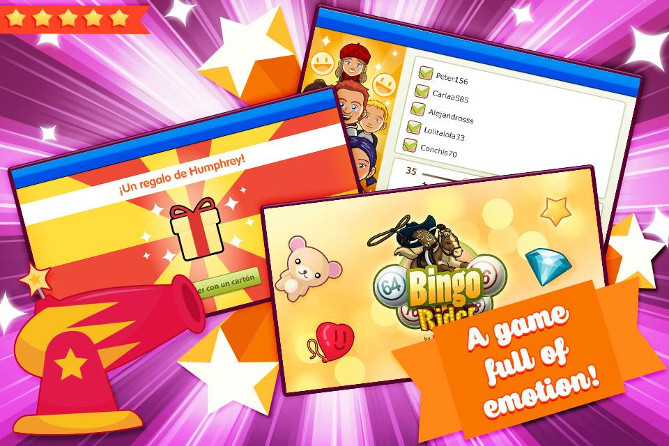 Bingo Rider-FREE Casino Game- screenshot