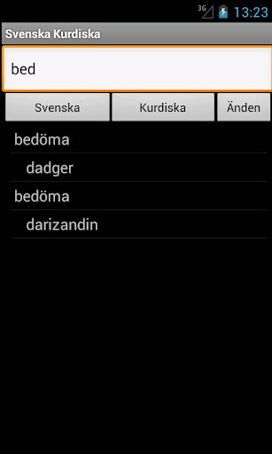 玩旅遊App|Swedish Kurdish Dictionary免費|APP試玩