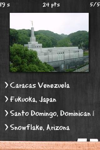 LDS Temples Quiz - screenshot