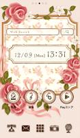 Screenshot of Cute wallpaper★Vintage rose