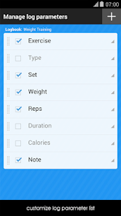 Gym Workout Log/Notebook - screenshot thumbnail