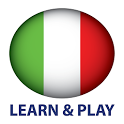 Learn and play. Italian words - vocabulary & games icon