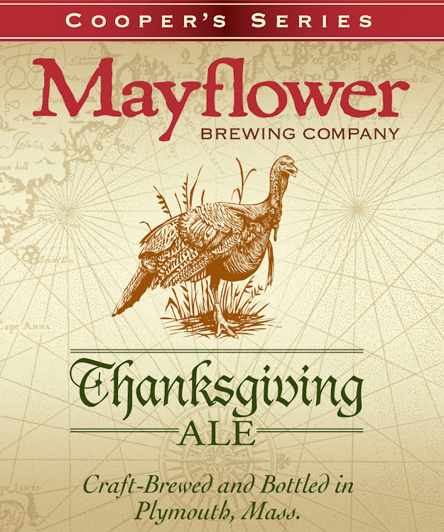 Logo of Mayflower Thanksgiving Ale