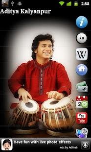 Aditya Kalyanpur - Tabla- screenshot thumbnail