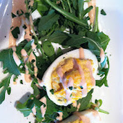 Duck egg small plate (appetizer)