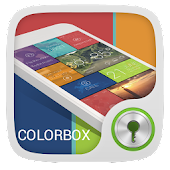ColorBox GO Locker Theme APK for Bluestacks
