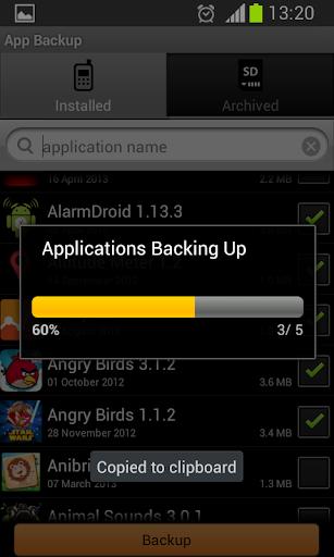 App Backup  screenshots 3