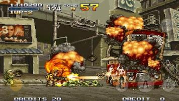 Screenshot of METAL SLUG X