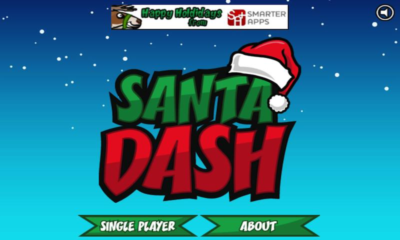 Santa Dash Free - screenshot