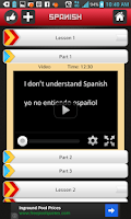 Screenshot of Learn Spanish by Babel Yak