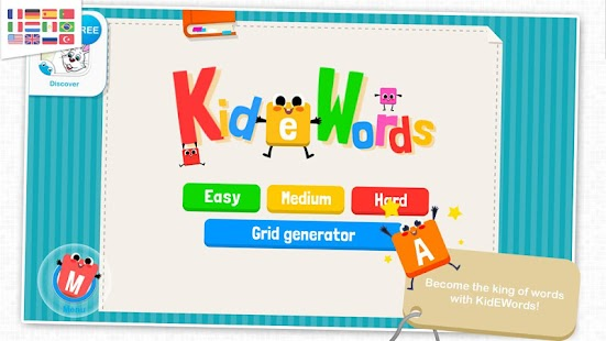 KidEWords - Cruciverba Screenshot