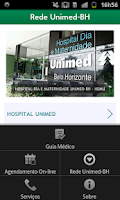 Screenshot of Guia Unimed-BH