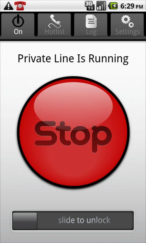 Private Line - Privacy Protect - screenshot