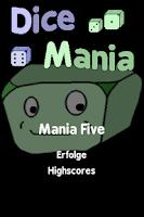 Screenshot of Dice Mania
