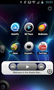 TSF Shell Theme Tfou HD - screenshot thumbnail