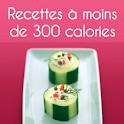 Recettes moins de 300 calories logo